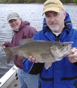 Jay Leary and St. Croix River smallmouth bass